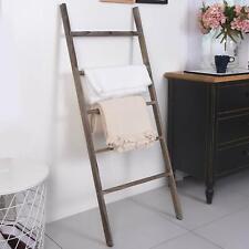 4/' Reclaimed Rustic Barn Wood Ladder