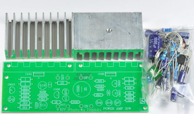 OTL Power Amplifier 30W Mono R1% Unassembled Kit for beginner electronic