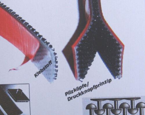 Pilzklettband Klebeklettband Klettband Verschluss System,1 Meter x25mm