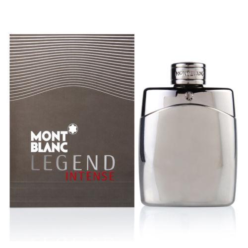 Legend Intense By Mont Blanc 3.3/3.4oz. Edt Spray For Men New In Box