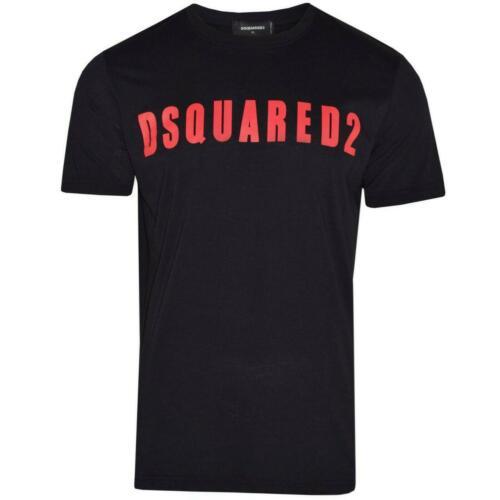 DSQUARED2  T-Shirt Short Sleeves Slim Fit Printed Logo All Sizes S M L XL XXL