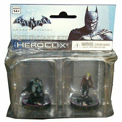 Hero Clix Batman Arkham Origins Quick-Start Kit