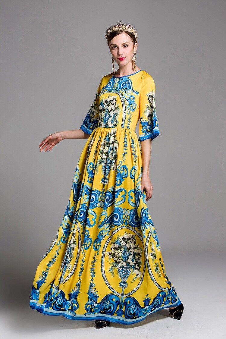Dms 12 Femme Défilé Inspiration Créateur Robe D'Été Grande Taille
