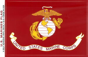 US-Marine-Flag-Sticker-3-5-034-x5-0-034-Decal-Marine-Military-Vinyl-Made-in-USA