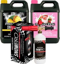 ProKleen Car Shampoo Snow Foam Wax Wash 10L Karcher Washer Compatible Lance