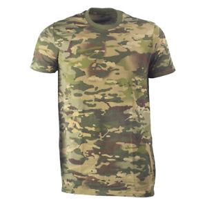 Army man khaki military army Tropic multicam T-shirt
