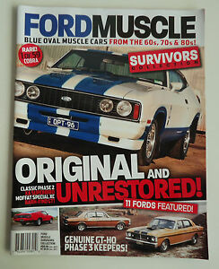 ford muscle survivors collection from the 60's, 70's & 80's car