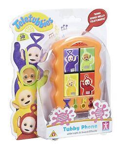 Nouveau Teletubbies interactive Tubby Phone jouet avec lumière & sons 18m+