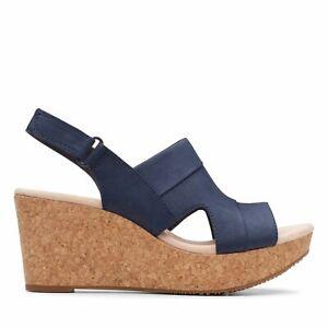 clarks annadel ivory women's platform wedge sandals