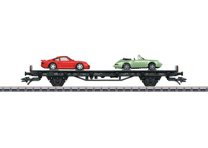 Märklin 45055 Car Transport Wagon  70 YEARS OF PORSCHE SPORTS CAR 5  Novelty 2018