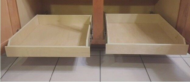 20  Inch pull out Shelf, Kitchen Cabinet, Roll out Organizer, Sliding Drawer
