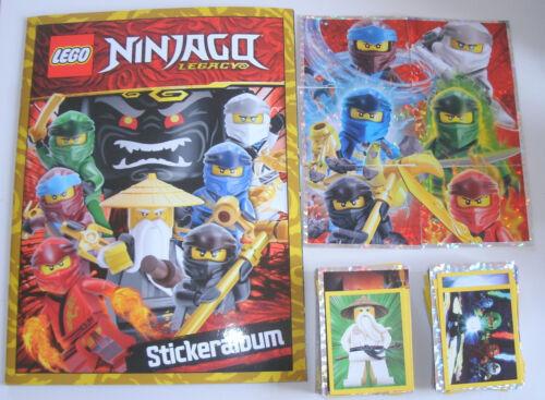 Lego Ninjago Legacy sticker-este álbum todos los 289 sticker-conjunto completo