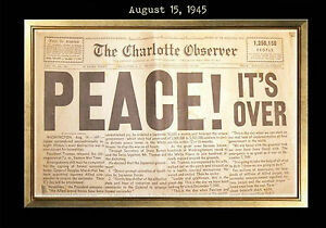 Image Is Loading MAGNET Vintage Newspaper Front Page PEACE IT 039