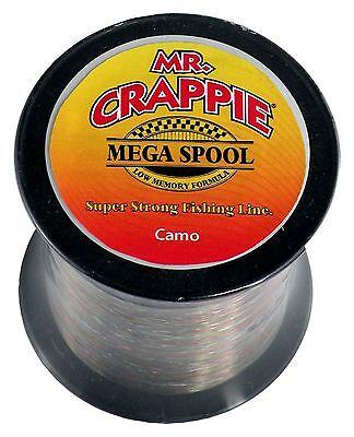 Mr Monofilament Line NEW Crappie MC6CL Clear 6lb 1500yds
