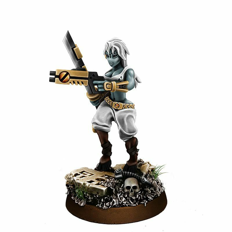 Wargame Exclusive Greater Good Widow of Vengeance with Sword Sword Sword and Gun Wargames a95e8a