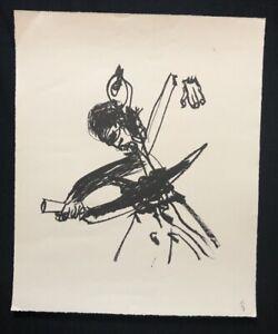 Hyun-sook canzone, Kwang Ju, maggio 1980, litografia, 1982, firmato a mano