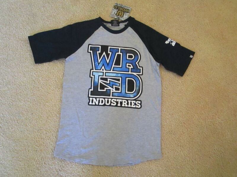 Boys World Industries Short Sleeve Tee With Nebular Print Size 14 Nwt