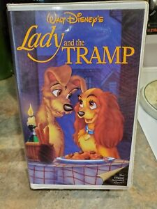 Lady And The Tramp Vhs 1987 Walt Disney S The Classic Black Diamond Ebay