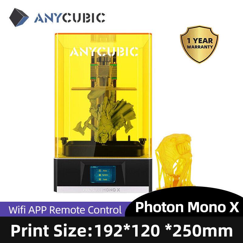 ANYCUBIC 8.9'' 4K Monochrome LCD Resin 3D Printer PHOTON MONO X | 192*120*250MM