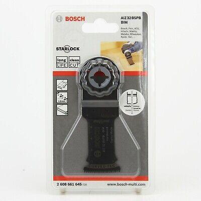 BOSCH AIZ 32 BB BIM immersion saw blade 5 pieces OIS. Bosch 2608661630