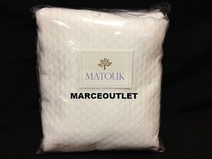 Image Is Loading Matouk Pearl 100 Egyptian Cotton FULL QUEEN Coverlet