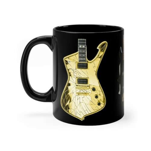 KISS All 3  Guitars used by Paul Gene and Tommy version 9 mug 11oz