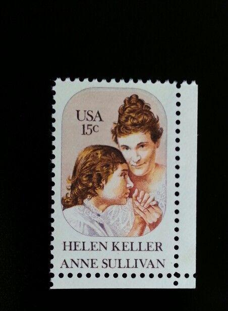 1980 15c Helen Keller, Anne Sullivan Scott 1824 Mint F/