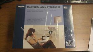Maxtor Shared Storage II 500GB Brand New