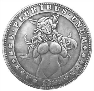 Lucky-Devil-Novelty-Good-Luck-Heads-Tails-Challenge-Coin-US-SELLER-FAST-SHIPPING