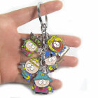 South Park 5pcs Toy Figure Doll Metal Keychain Keyring Stan Marsh/Kyle New