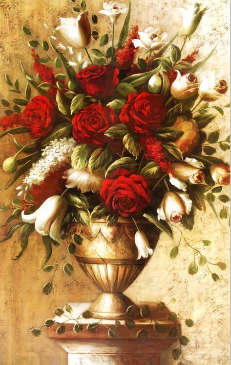 3D Safran vase 64 Fototapeten Wandbild BildTapete Familie AJSTORE DE
