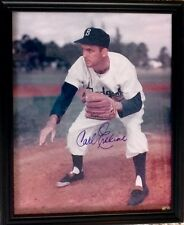 ORIGINAL CARL ERSKINE AUTOGRAPH PHOTOGRAPH MAJOR LEAGUE BASEBALL BROOKLYN DODGER
