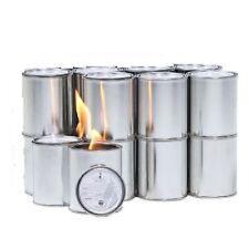 Fireplace Gel Fuel Cans Fire Flame 16 Indoor Outdoor Heat