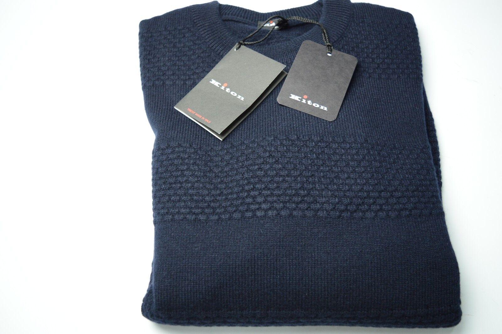NEW  1580,00  KITON Sweater 100% Cashmere Größe  S Us 48 Eu (COD KI15)