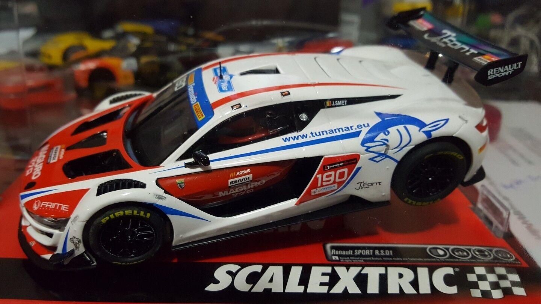 Nouveau 1 32 Scale SCX DIGITAL extensible Renault Sport RS01