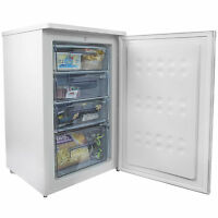 Iceq 100l Under Counter Freezer White Slimline 51cm Wide A Rated