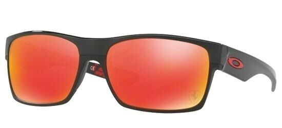 a19bc1c9f1834 Oakley TwoFace Ferrari Collection Mens Sunglasses - Polished Black ...