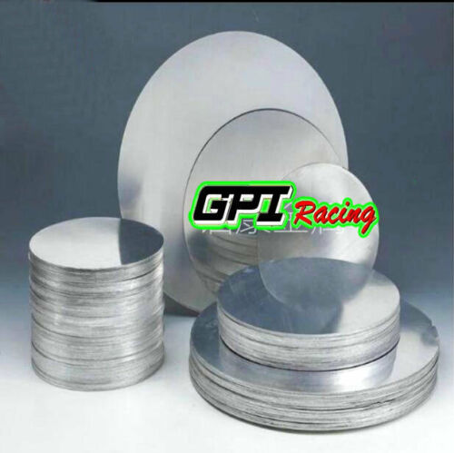 "2mm Ailuminum Disc Circle Blank Plate Sheet Round DIA=10/""//254mm 0.0787/"" Thick"