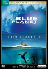 The Blue Planet Complete Collection 8-dvd Set NM W/ Slipcover BBC Earth 2018