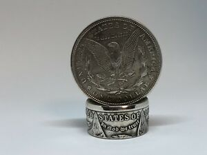 Coin-Ring-hand-made-from-Morgan-Silver-Dollar-Sizes-From-7-18
