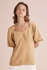 Country Road Full Sleeve Blouse - Cinnamon