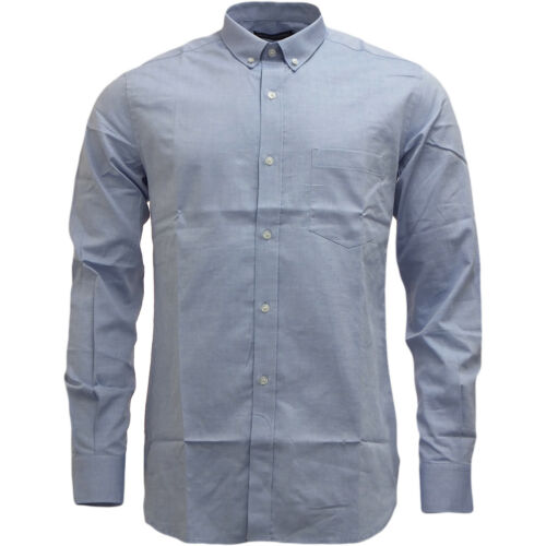 FCUK French Connection Classic Chambray Blue Oxford Shirt BNWT RRP £55