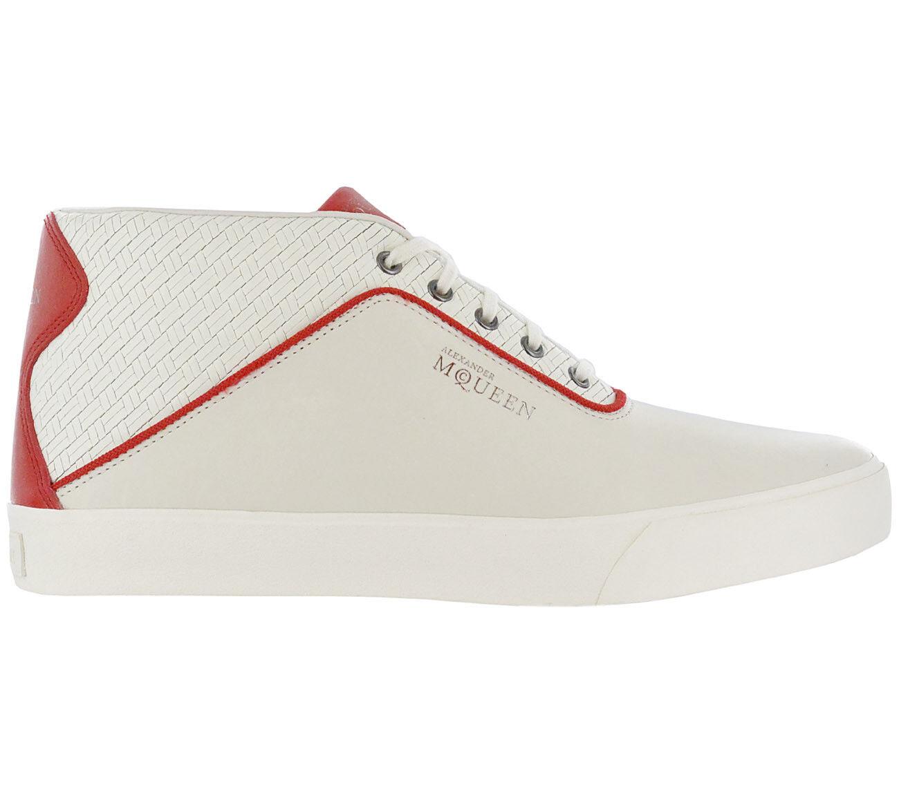 PUMA Grau Alexander McQueen AMQ Dek Mid II Sneaker Grau PUMA Herren Schuhe Leder NEU 302e44