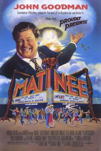 "Licensed-NEW-USA John Goodman 27x40/"" Theater Size /""MATINEE/"" Movie Poster"