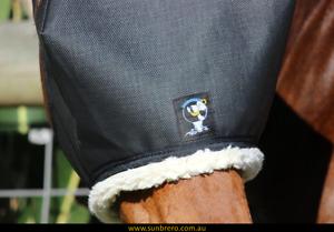 SUNBRERO-Horse-Sun-amp-Fly-Mask-Veil-95-shade-suitable-Headshaking-Uveitis