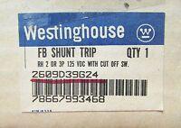 Westinghouse Breaker Shunt Trip 2609d39g24