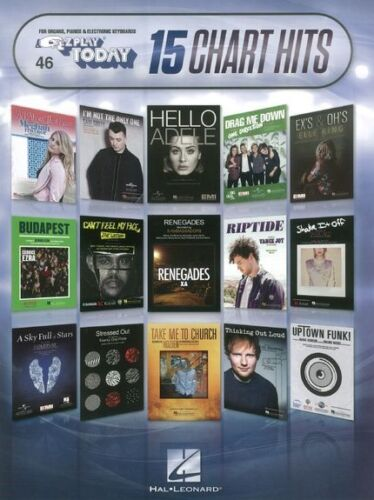 Learn to Play E-Z Play Today Chart Hits Ed Sheeran Bruno Marrs CHORDS MUSIC BOOK