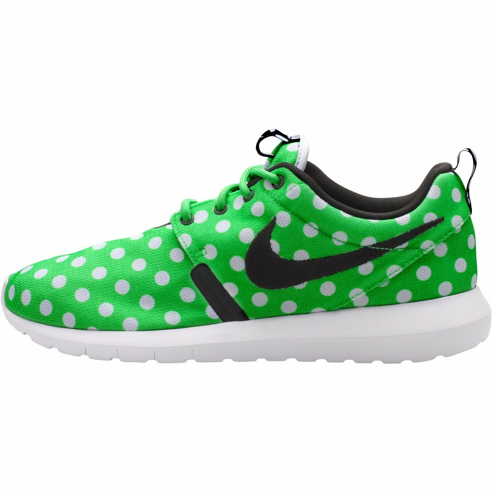 Nike Roshe NM QS Mens shoes Green Strike Black White Polka Dot 810857 300