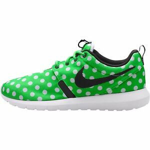 free shipping 5b28f 9946a Image is loading Nike-Roshe-NM-QS-Mens-Shoes-Green-Strike-