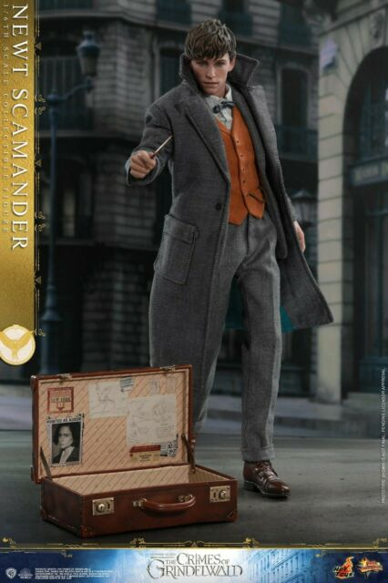 HOT TOYS MMS512 Fantastic Beasts Crimes of Grindelwald Newt Scamander 1/6 FIGURE